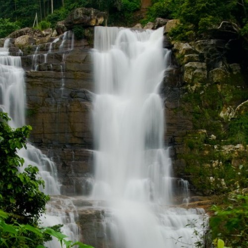 Ramboda Falls, Hill Country, Sri Lanka